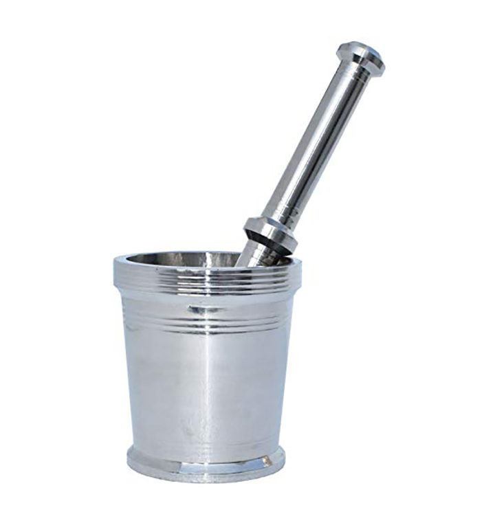 plantex heavy stainless steel mortar and pestle set