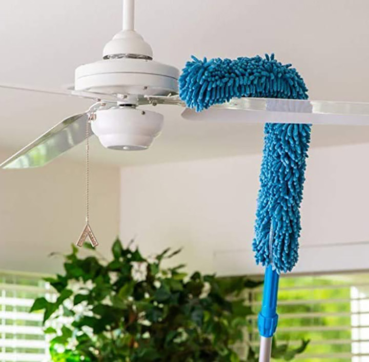 qwebars microfiber cleaning duster