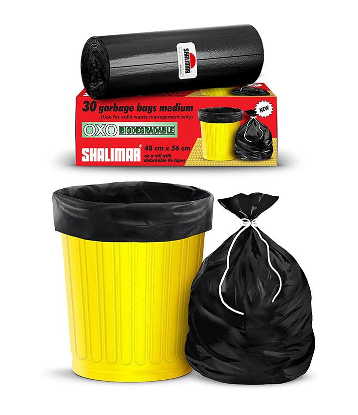 shalimar premium oxo - biodegradable garbage bags
