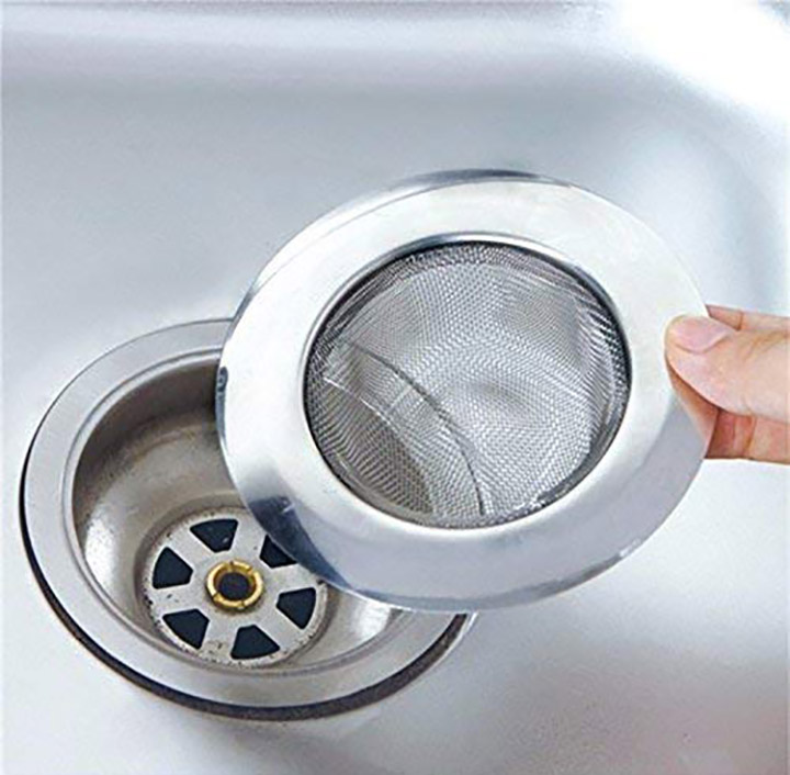 skywalk stainless steel strainer kitchen drain basin basket filter stopper drainer sink jali 9 cm