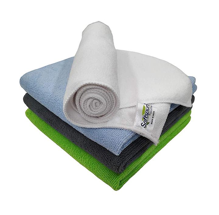 softspun microfiber cleaning cloth