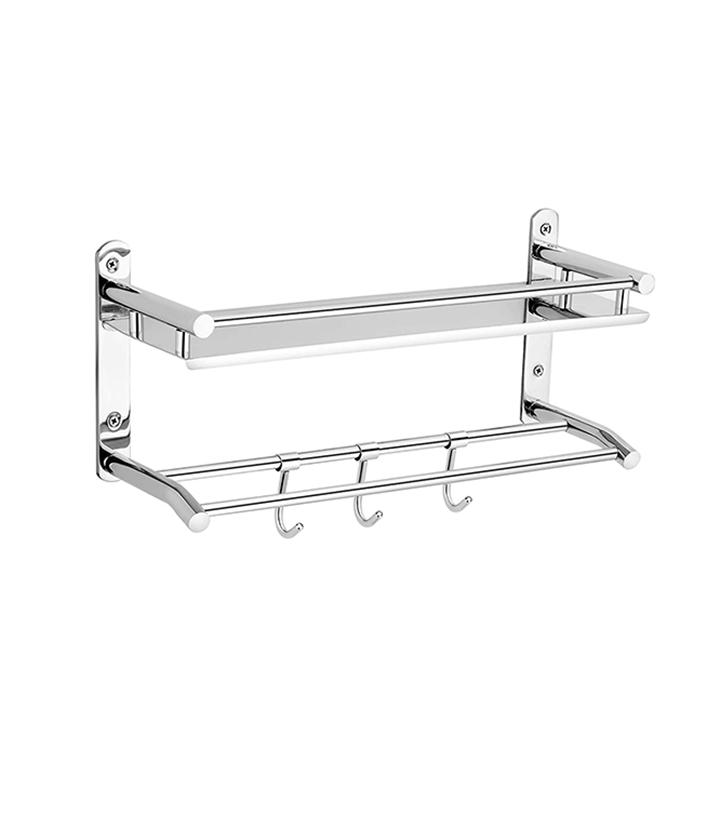 synergy stainless steel bathroom towel rack