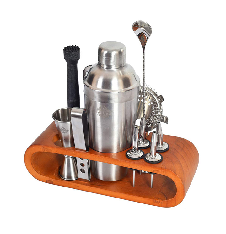 taluka stainless steel bar set