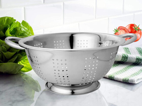washing bowl and strainer