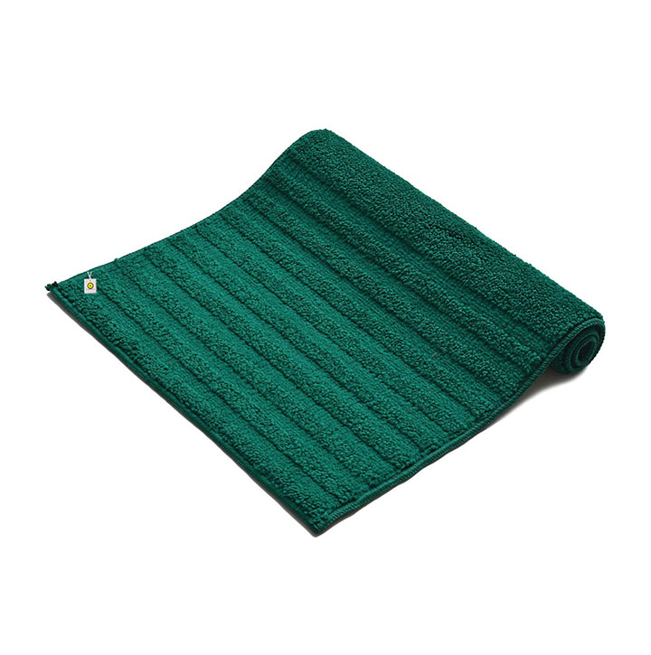 yellow weaves anti slip bathroom mat