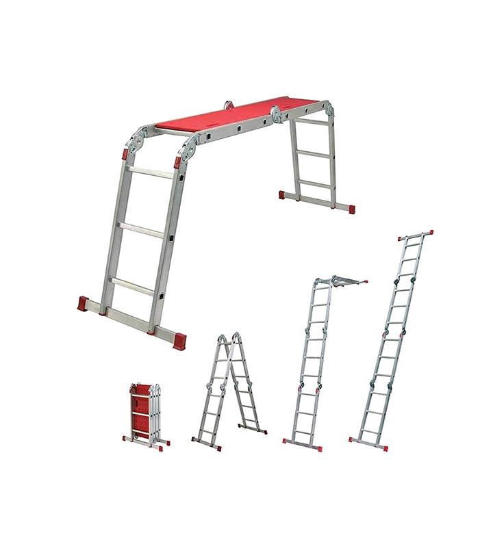 youngman capacity 150 kg aluminium multipurpose step ladder ladder extension