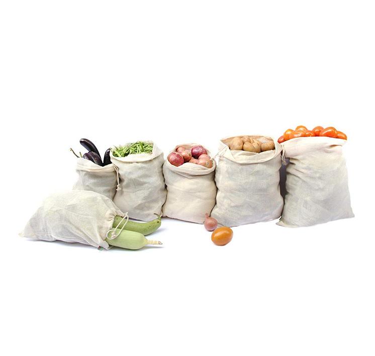 yuvagreen cotton reusable fridge storage bags