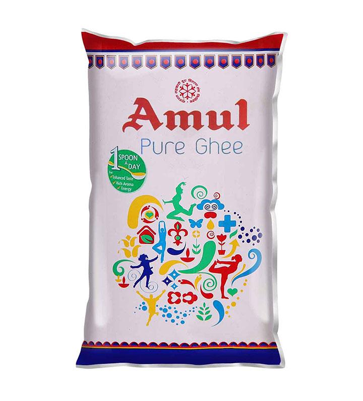 amul pure ghee pouch