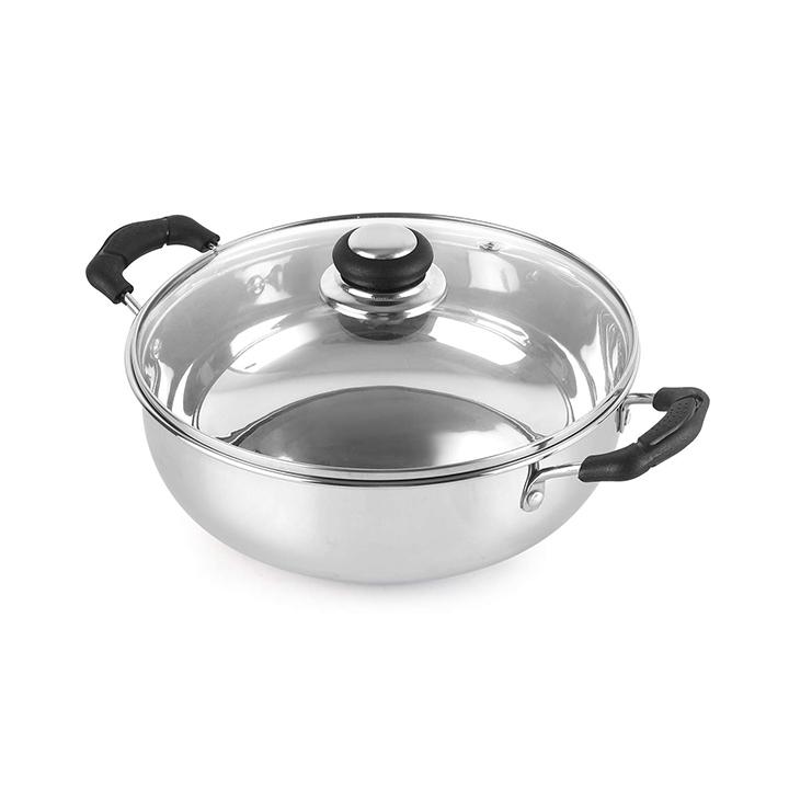 cello steelox cookware set