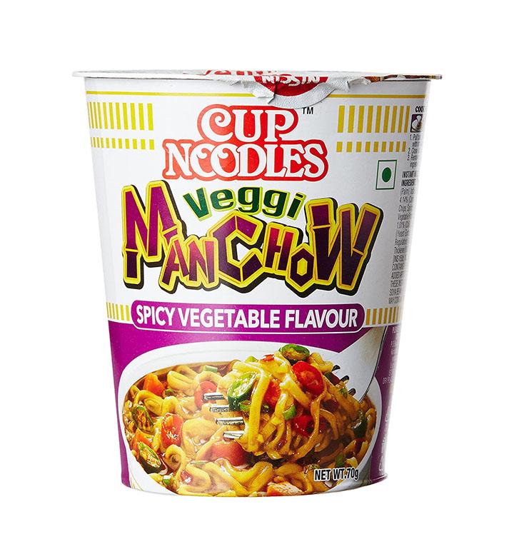 cup noodles veggi manchow