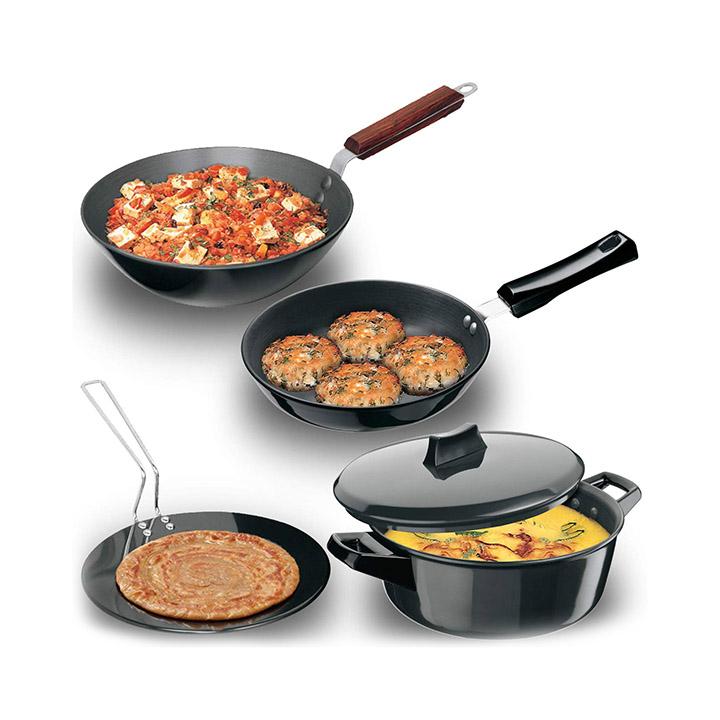 hawkins futura hard anodised cookware set