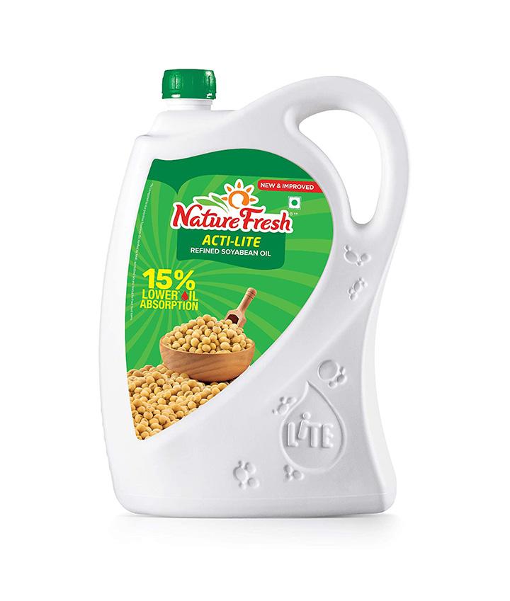 nature fresh soyabean oil