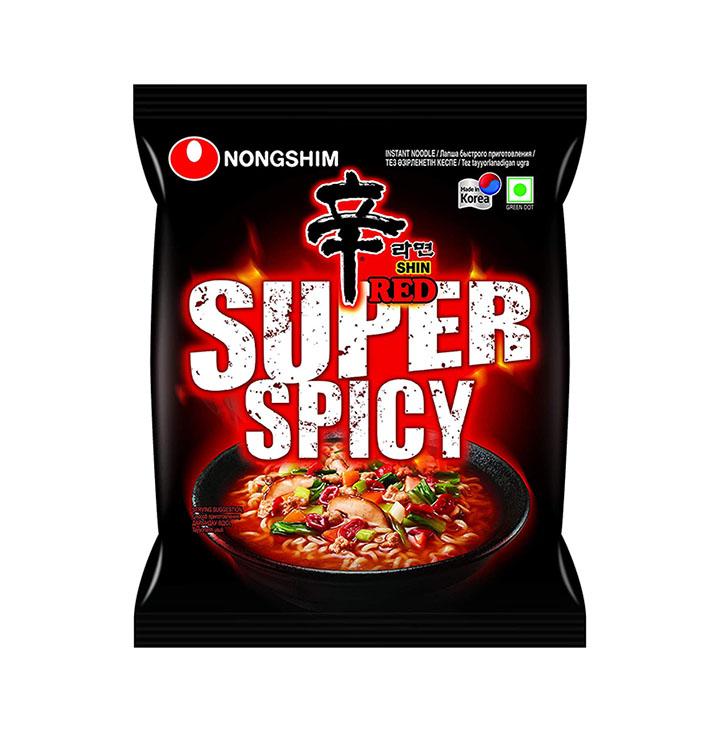 nongshim ramyun korean style super spicy noodle soup instant noodles