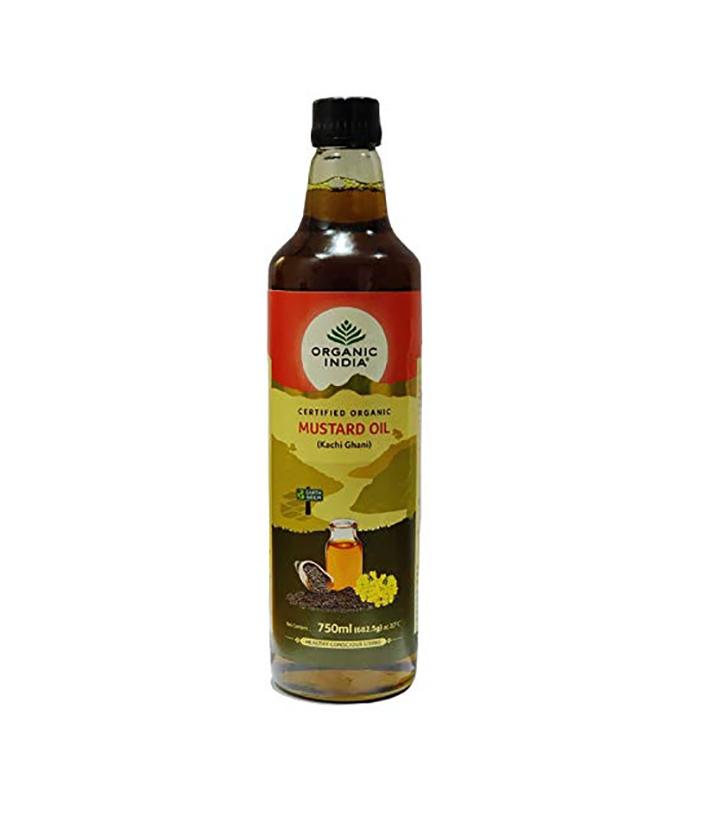 organic india organic mustard oil