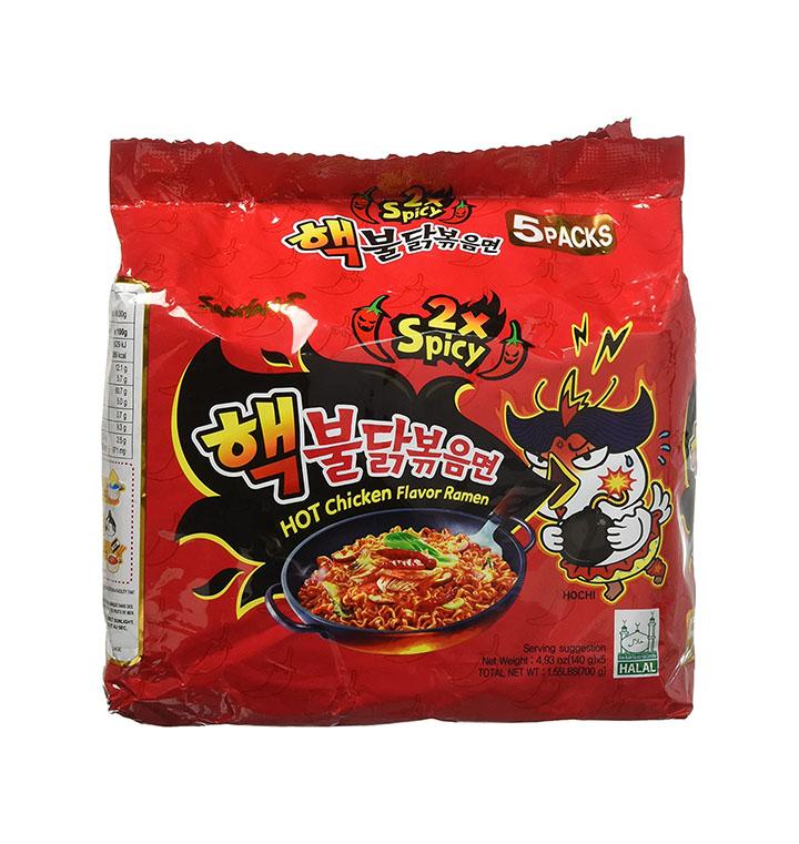 samyang fire chicken 2x spicy ramen pouch