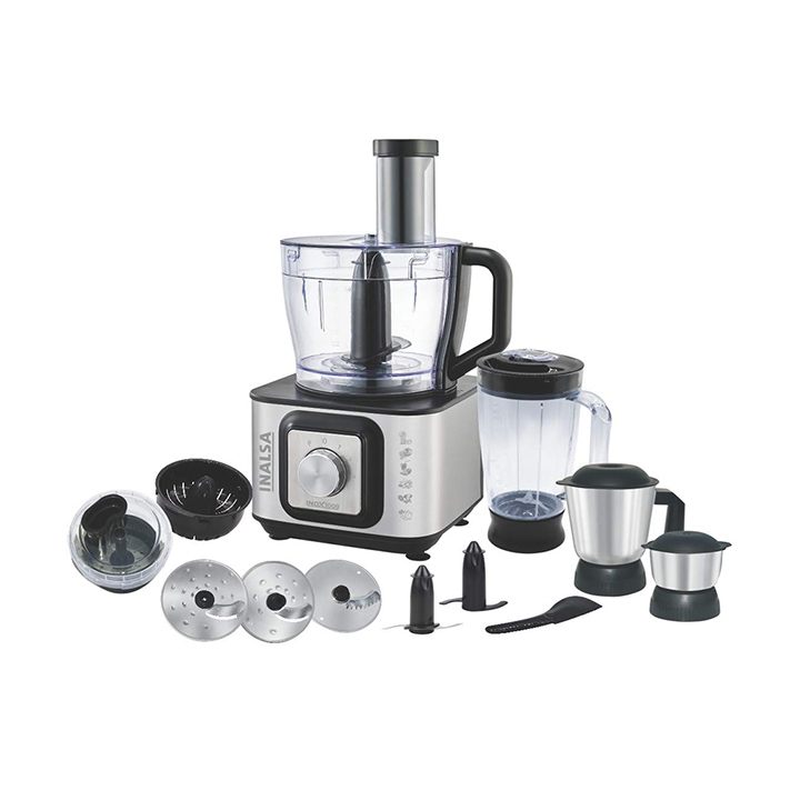 Inalsa Food Processor INOX 1000-Watt With Blender Jar