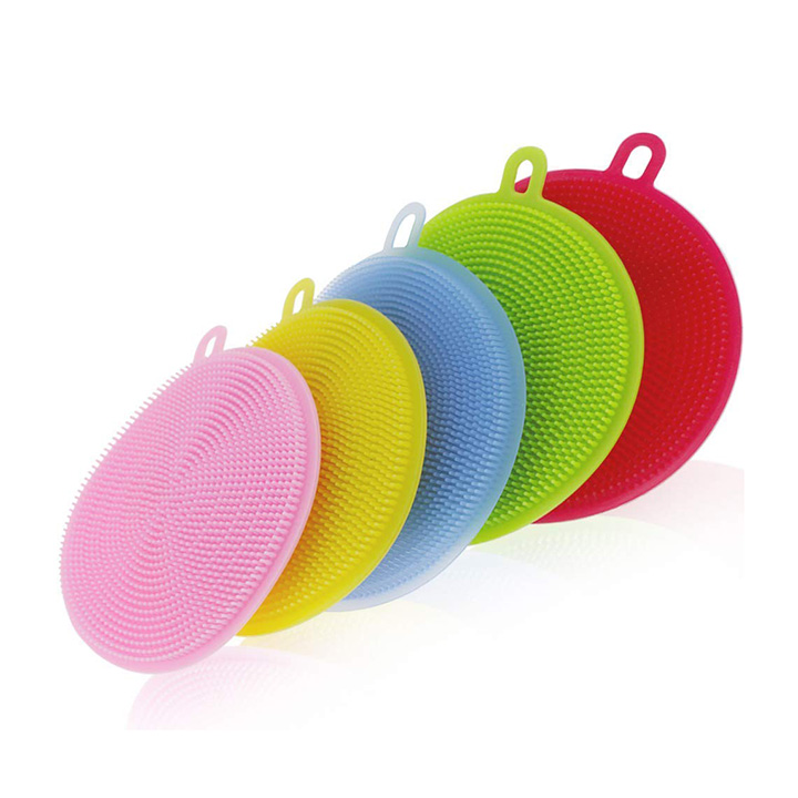 Naivete Cleaning Supplies Sponges Silicone Scrubber