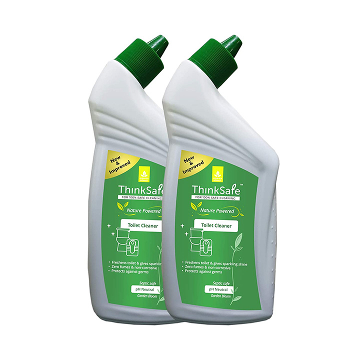 Organica ThinkSafe Natural Toilet Cleaner Liquid