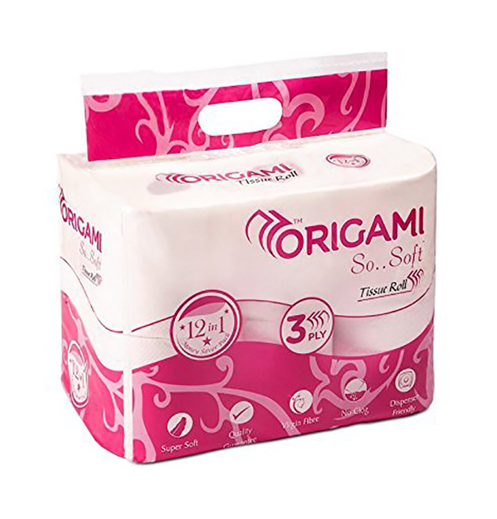 Origami So Soft 3 ply Toilet Tissue