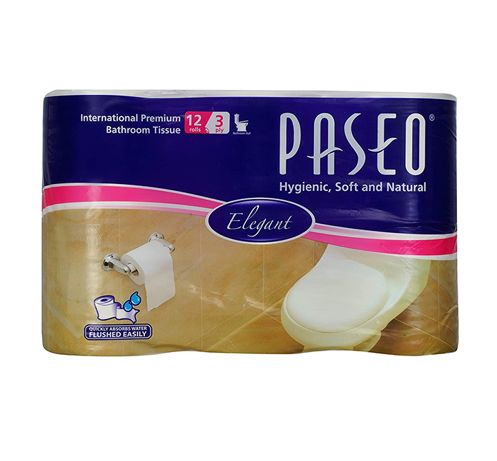 Paseo Superior 3 ply Toilet Roll Paper Tissue