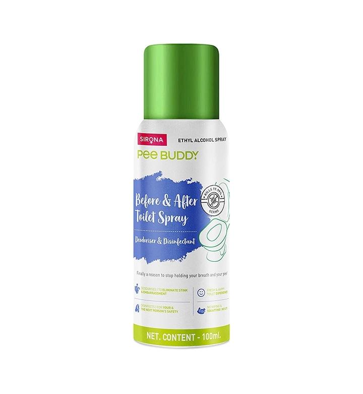 PeeBuddy Odour and Germs Eliminating Toilet Spray