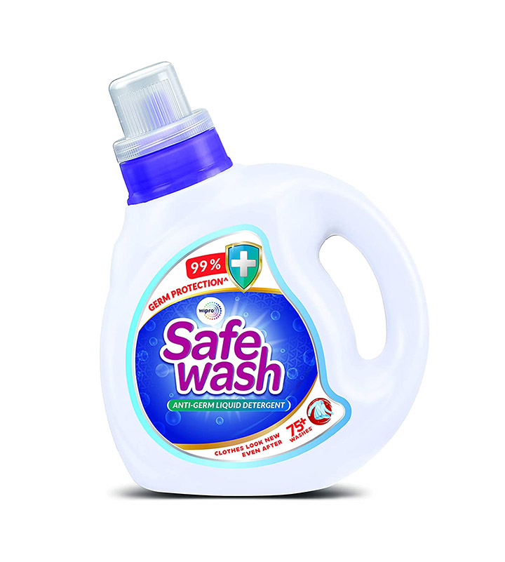 safewash anti germ liquid detergent by wipes
