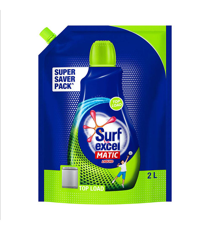 Surf Excel Matic Top Load Liquid Detergent Refill Pouch