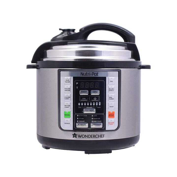 Wonderchef Nutri-Pot 3L 7 in 1 Programmable Slow Cooker