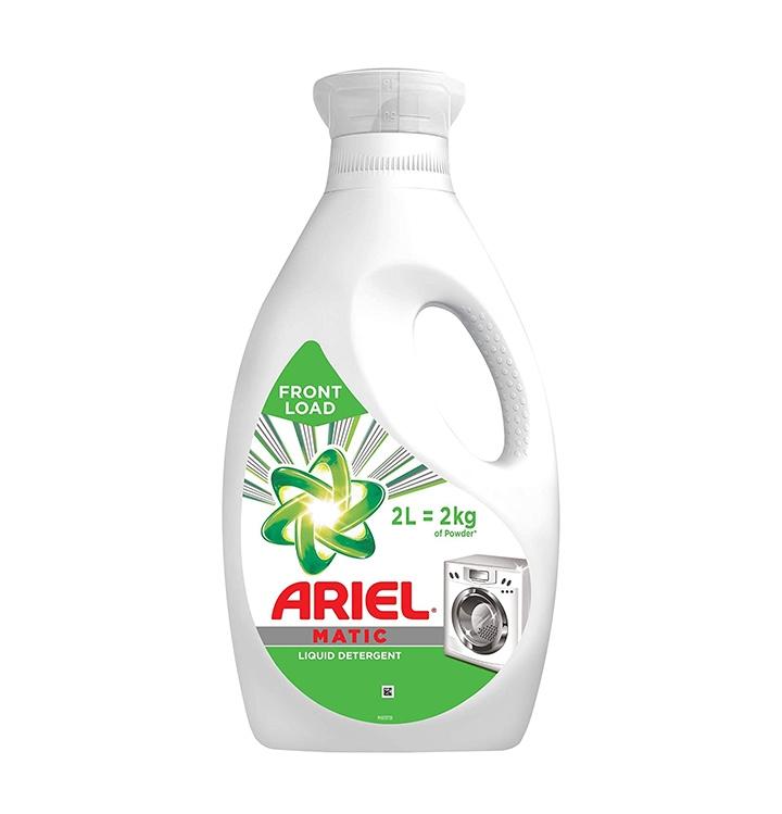ariel matic liquid detergent front load