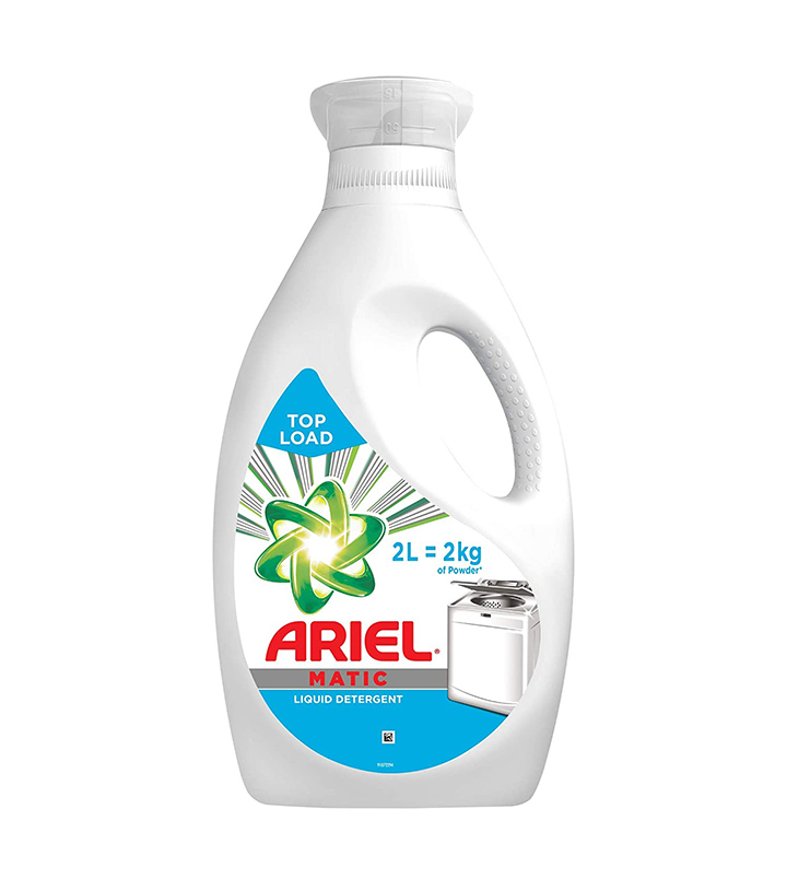ariel matic liquid detergent top load 2 litre