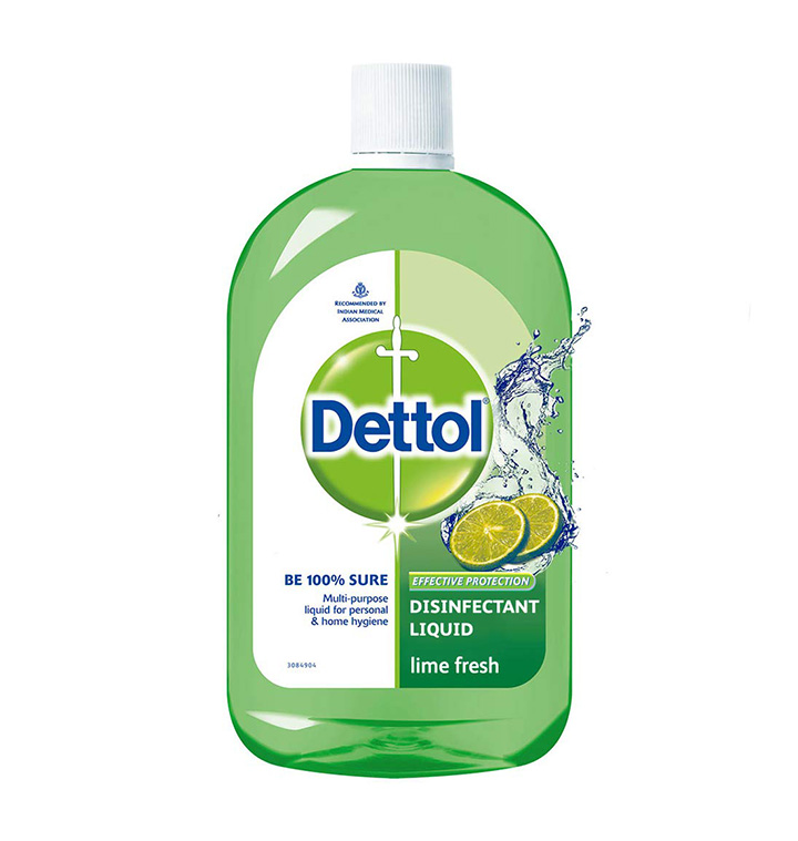 dettol liquid disinfectant cleaner for home lime fresh 1l
