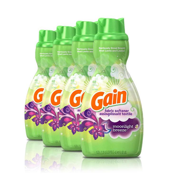 gain liquid fabric conditioner