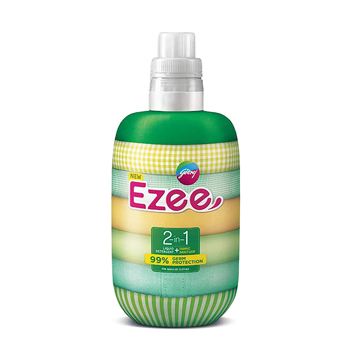 godrej ezee 2-in-1 liquid detergent + fabric sanitizer