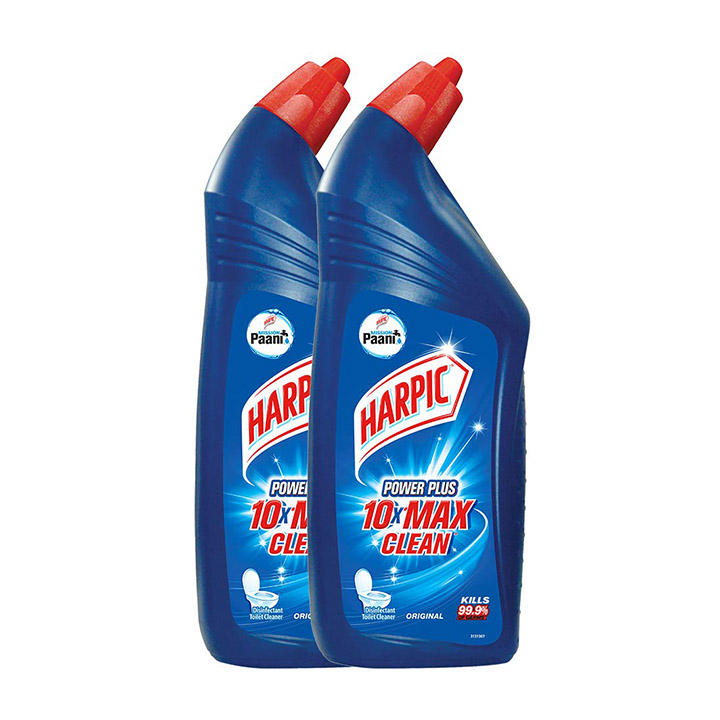 harpic powerplus disinfectant toilet cleaner