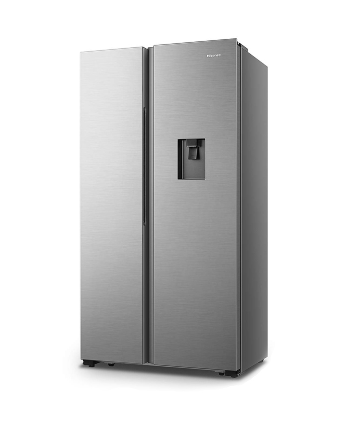 hisense 566 l frost-free side-by-side refrigerator with water dispenser