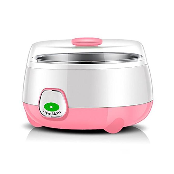 hsr plastic and stainless steel 1l automatic yogurt maker