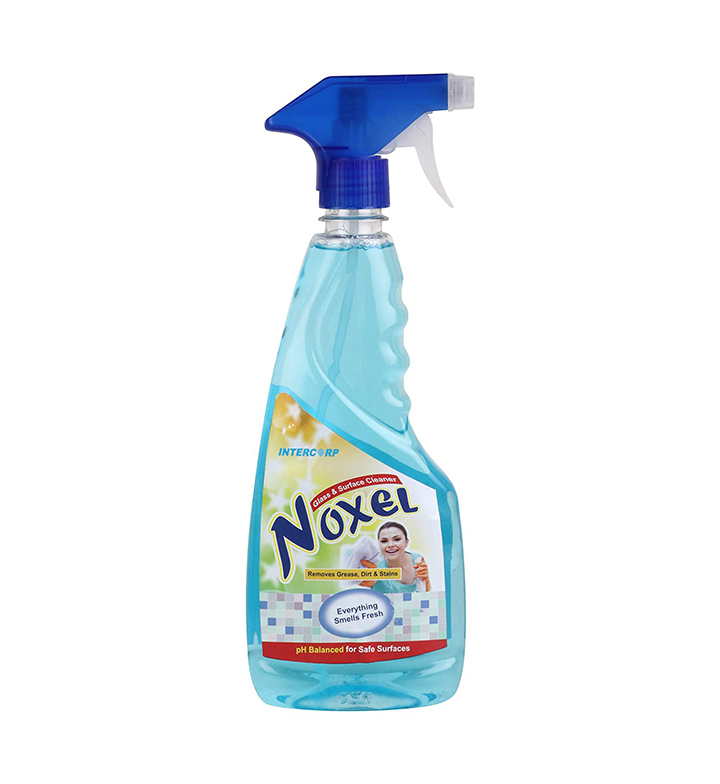 intercorp noxel glass & surface cleaner sprayer