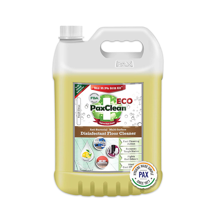 paxclean eco multi surface disinfectant floor cleaner