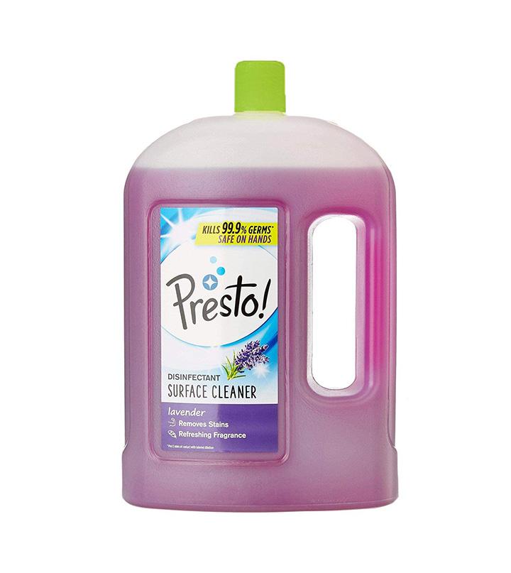presto disinfectant floor cleaner
