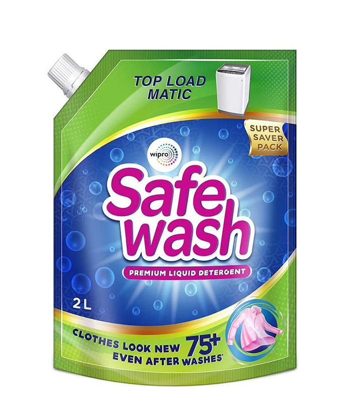 safewash matic top load liquid detergent by wipro