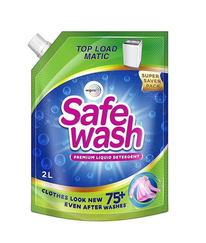safewash matic top load liquid detergent by wipro 2l