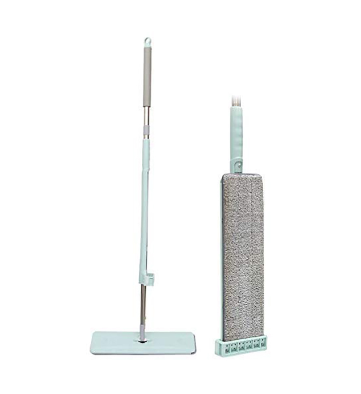 simxen microfiber mop for floor cleaning hardwood floor flat squeeze mop