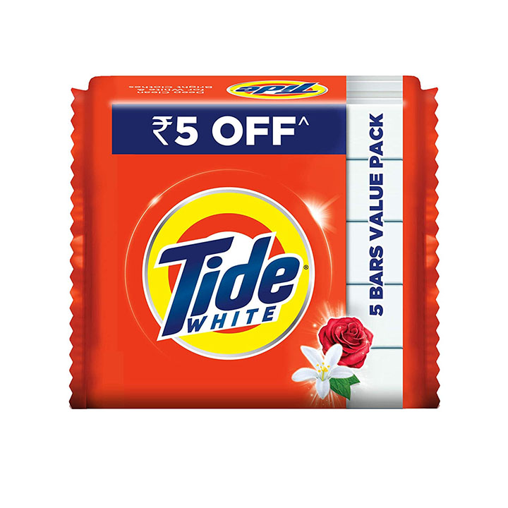 tide white detergent bar soap