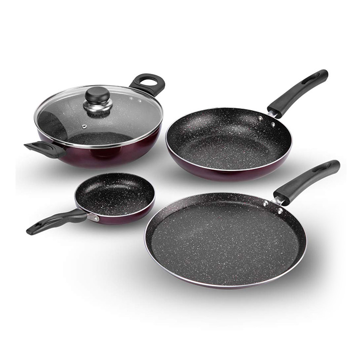 vinod supreme induction friendly nonstick cookware set