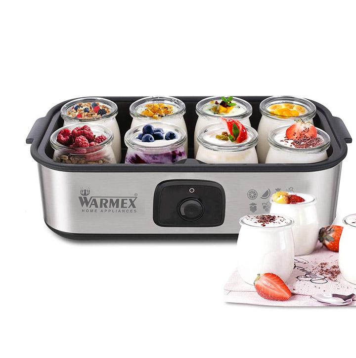 warmex home appliances glass electric yogurt maker