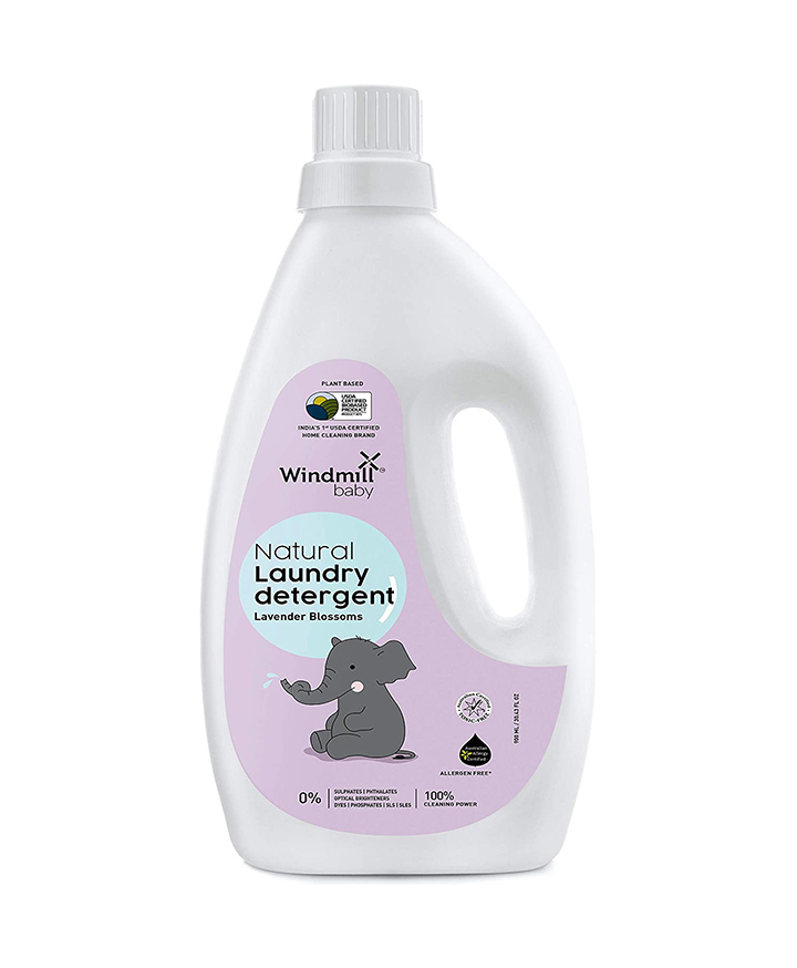 windmill baby natural plant based laundry detergents