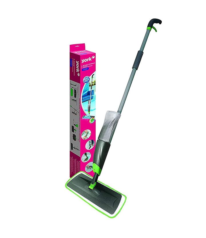 york flat spray mop