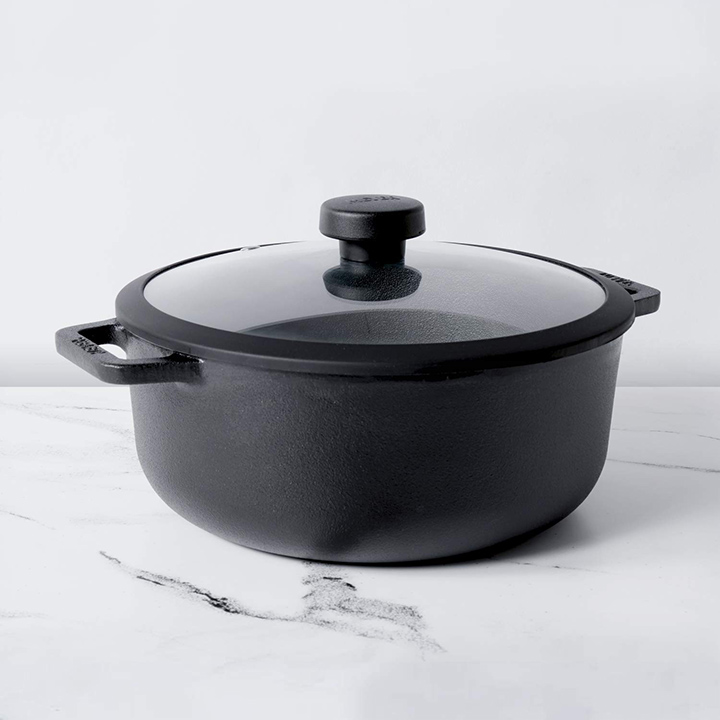 meyer pre seasoned cast iron dutch oven