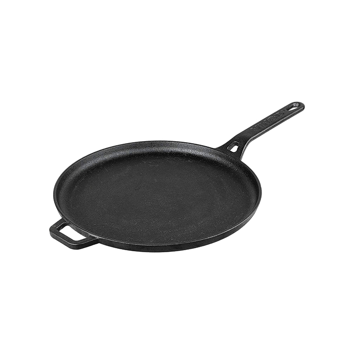 Vinod Legacy Pre-Seasoned Cast Iron Dosa Tawa