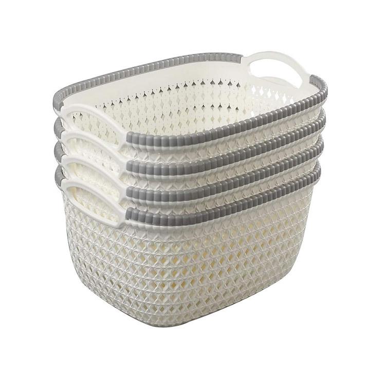 ab sales rattan woven weave organiser storage baskets